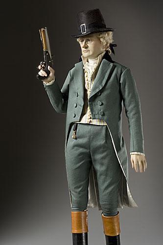 Portrait length color image of Alexander Hamilton aka.
