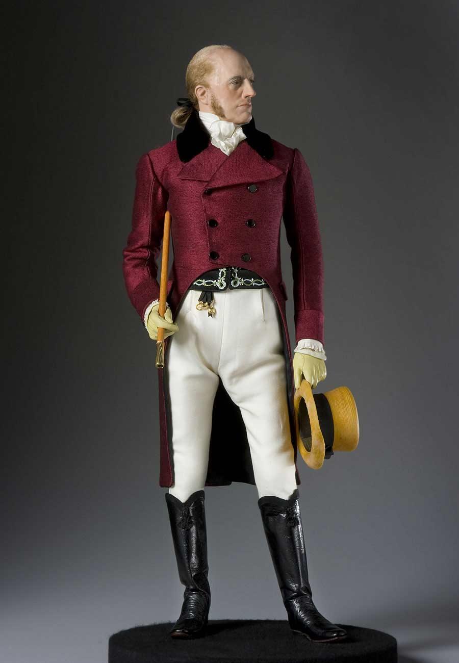 Full length color image of Aaron Burr aka.