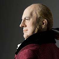 Right closup color image of Aaron Burr aka.