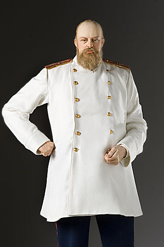Portrait length color image of Alexander III aka. Александр Александрович Романов,