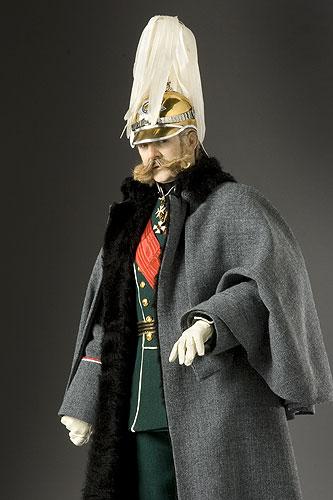 Portrait length color image of Alexander II Nikolaevich aka. Александр II Николаевич, Liberator of Russia, by George Stuart.