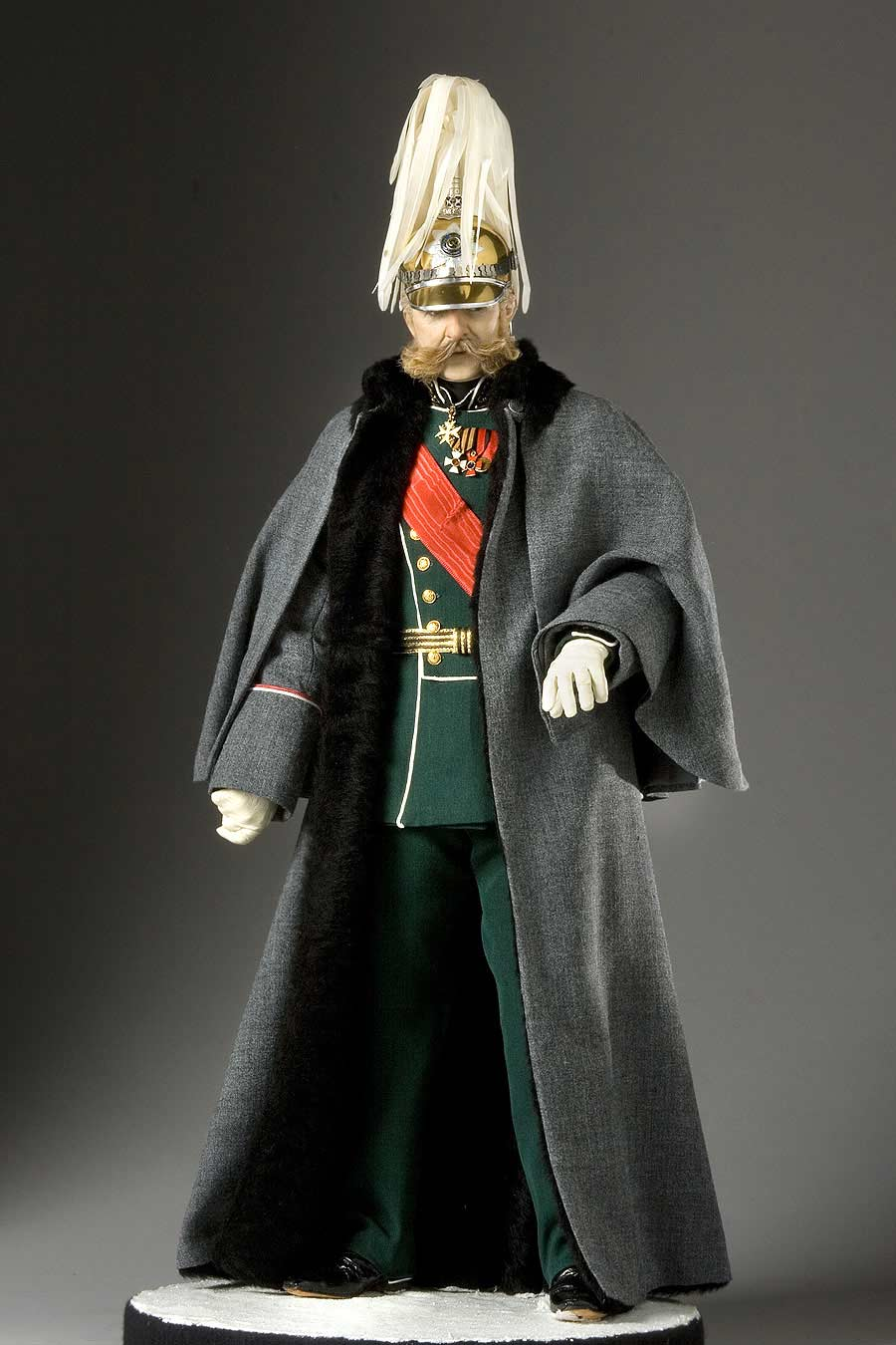 Full length color image of Alexander II Nikolaevich aka. Александр II Николаевич, Liberator of Russia, by George Stuart.