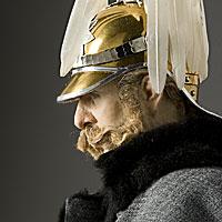 Right closup color image of Alexander II Nikolaevich aka. Александр II Николаевич, Liberator of Russia, by George Stuart.