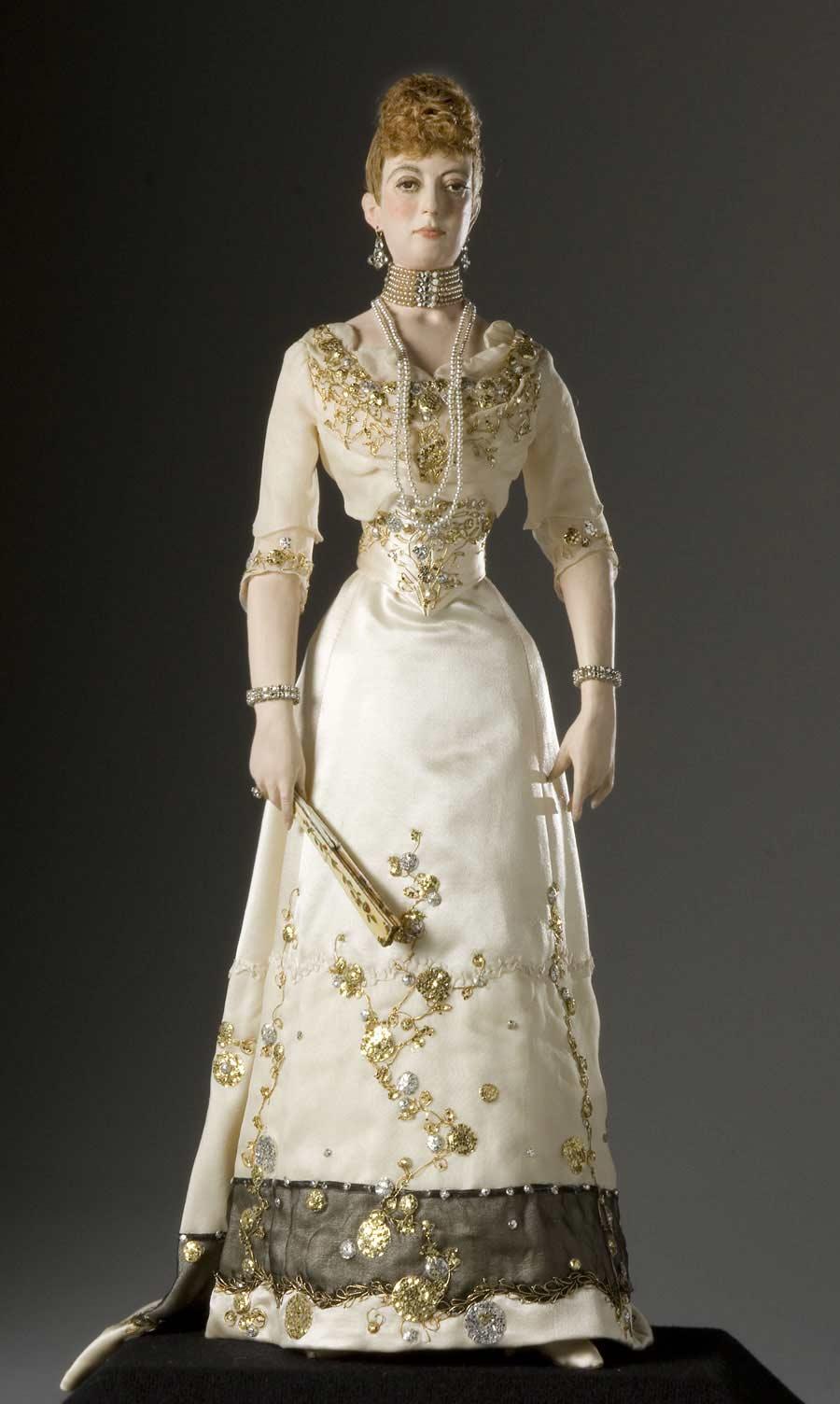 Full length color image of Alexandra Princess of Wales (v1) aka. Alexandra of Denmark , by George Stuart.
