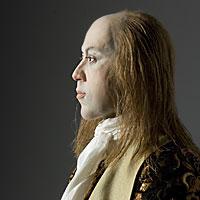 Right closup color image of Tsarevich Alexie Petrovich aka. Михаи́л Фёдорович Рома́нов, by George Stuart.