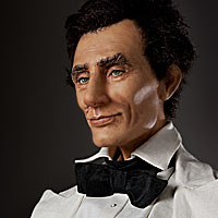 Abraham Lincoln, Lawyer, 1858 Right View