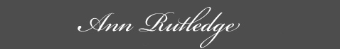 Text: Ann Rutledge Signature