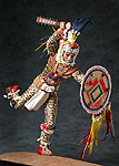 Thumbnail color image of Aztec Leopard Warrior V.2, by George Stuart.