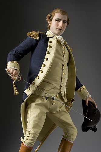 Portrait length color image of Benedict Arnold aka.