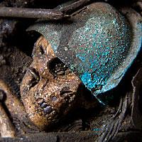 Right closup color image of Baldur , by George Stuart.