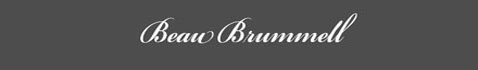 Text: Beau Brummell Signature
