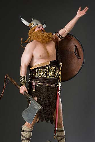 Boltar Viking Figure by George Stuart