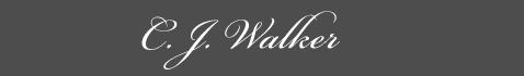 Text: Signature image of C. J. Walker aka. Sarah Breedlov, by George Stuart.