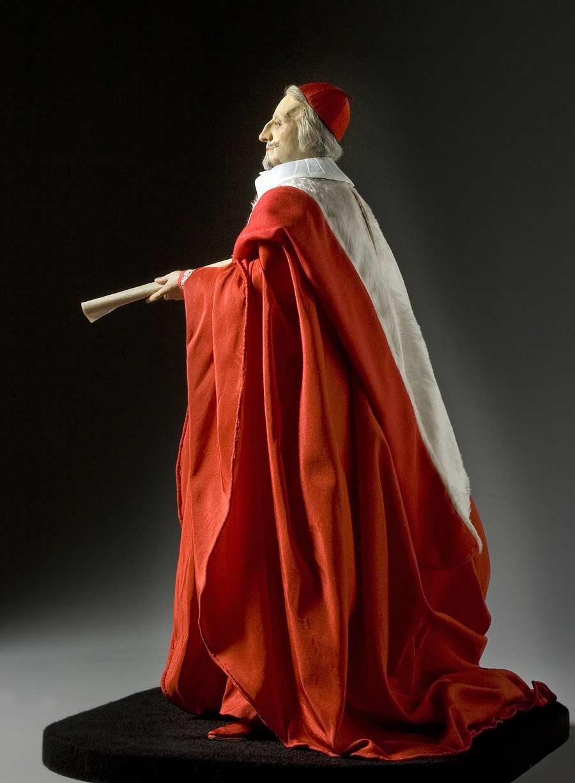 Full length color image of Cardinal Richelieu aka. Armand Jean du Plessis, Cardinal-duc de Richelieu et de Fronsac,