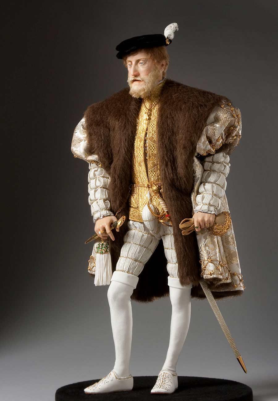 Full length color image of Charles V aka. Charles V of Spain, Holy Roman Emperor,