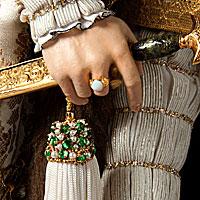 Left close up color image of Charles V aka. Charles V of Spain, Holy Roman Emperor,
