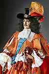 Thumbnail color image of Charles II (v2) aka. Charles II of England,  Scotland, and Ireland., by George Stuart.
