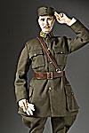 Thumbnail color image of Chiang Kai-Shek aka.  Jiang Zhongzheng, by George Stuart.