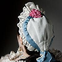 Left close up color image of Countess of Darlington aka. Sophia von Kielmansegg, by George Stuart.