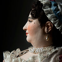 Countess of Darlington, excellent management of parties and public events.