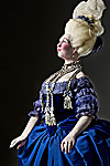 Thumbnail color image of Countess de la Motte (necklace) aka. Jeanne de Valois, by George Stuart.