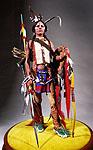 Thumbnail color image of Comanche Warrior, by George Stuart.
