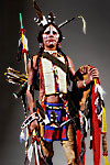Thumbnail color image of Comanche Warrior, by George Stuart.