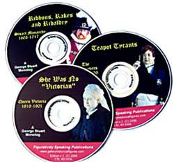 DVDs of George Stuart's monologs