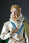 Thumbnail color image of Earl of Essex aka. Robert Devereux, by George Stuart.