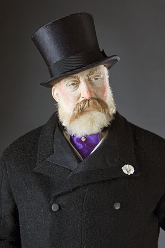 Portrait length color image of Edward Prince of Wales aka. Edward VII of England,