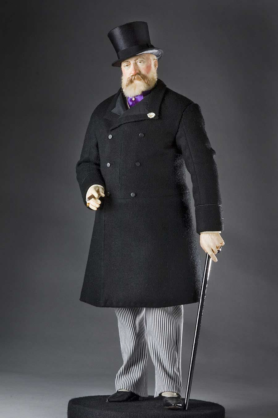 Full length color image of Edward Prince of Wales aka. Edward VII of England,