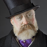Right closup color image of Edward Prince of Wales aka. Edward VII of England,