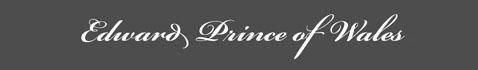 Text: Signature image of Edward Prince of Wales aka. Edward VII of England,