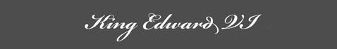Text: Signature image of Edward VI aka. Edward VI of England Edward Tudor, by George Stuart.