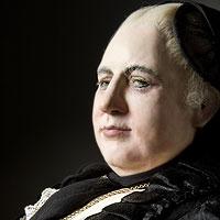 Right closup color image of Empress Maria Theresa aka.