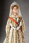 Thumbnail color image of Empress Alexandra Fedorovna aka. Императрица Александра Фёдоровна,  Alix of Hesse, by George Stuart.