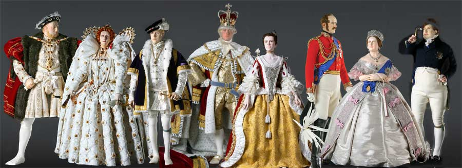 Image: Historical Figures from English and British History by George Stuart