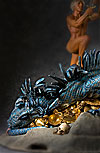 Thumbnail color image of Fafnir (dragon) aka. Fafnir the Frost Giant, by George Stuart.