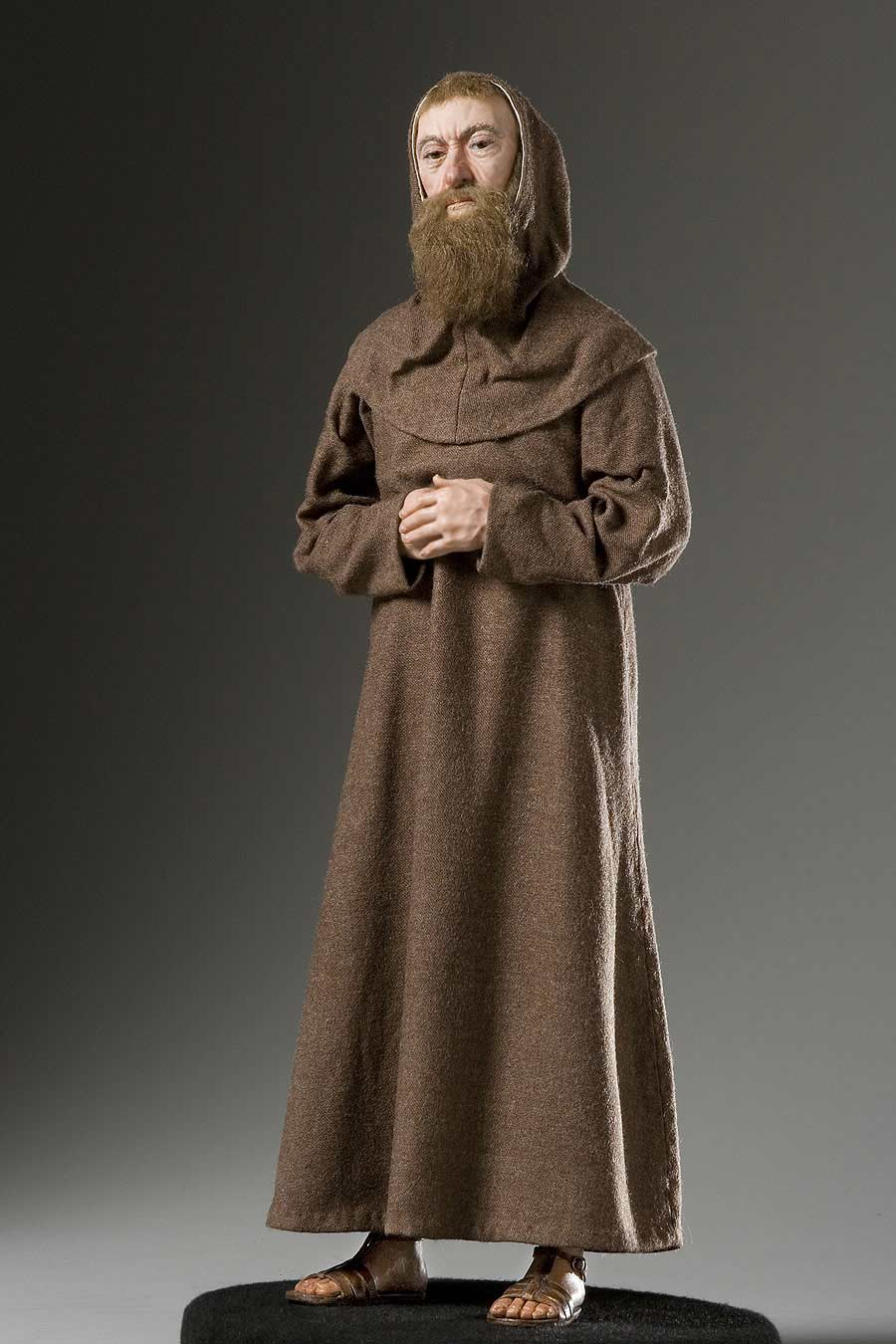 Full length color image of Fr. Joseph Francois du Tremblay, by George Stuart.