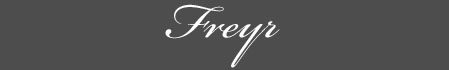 Text: Signature image of Freyr, by George Stuart.