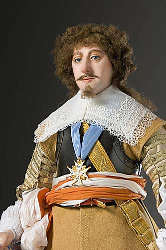 Portrait length color image of Gaston d' Orleans aka. Gaston of France, by George Stuart.