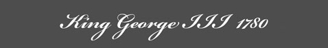 Text: George III 1780 Signature