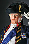 Thumbnail color image of George III 1780 aka. George III of England, George William Frederick, by George Stuart.