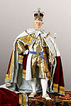 Thumbnail color image of George III (Robes of state) aka. George III of England, George William Frederick, by George Stuart.