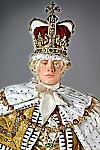 King George III in court robes