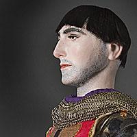 Right closup color image of Gilles de Retz aka. Gilles de Montmorency-Laval, by George Stuart.
