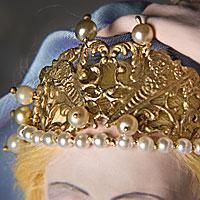 Helen of Troy, jeweled headdress