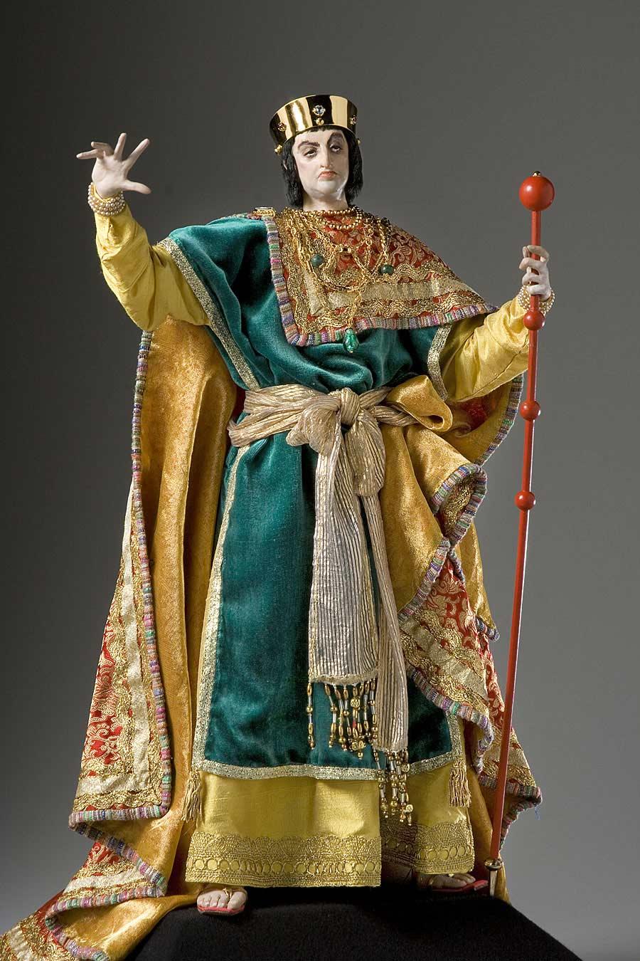 Full length color image of Herod Antipater (v1) aka. Antipas, by George Stuart.