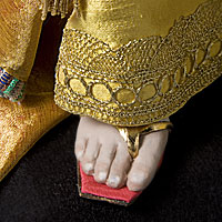 Left close up color image of Herod Antipater (v1) aka. Antipas, by George Stuart.