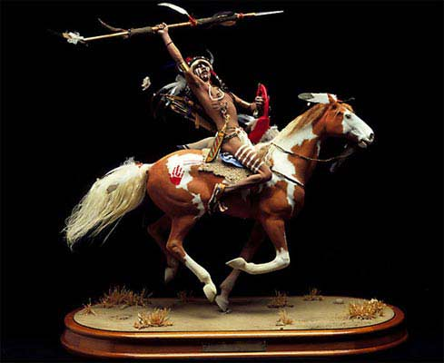 Mounted Lakota Warrior